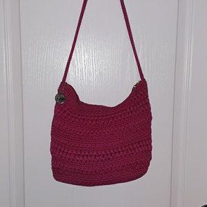 The Sak Pink Crochet Bag/Crossbody